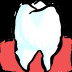 Śliczne zdrowe zęby także godny podziwu prześliczny uśmiech to powód do płenego uśmiechu.