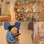 Drewniane ręcznie robione anioły i szopki bożonarodzeniowe dobre na prezent